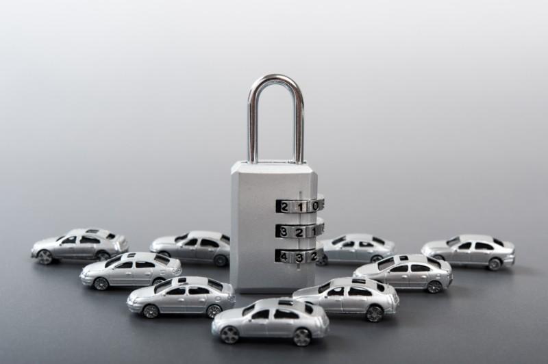 車両盗難イメージ