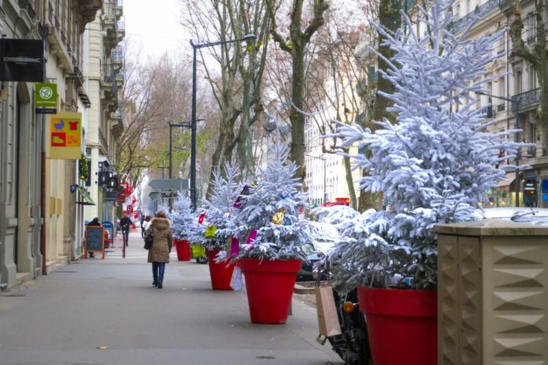 フランスのクリスマスの街