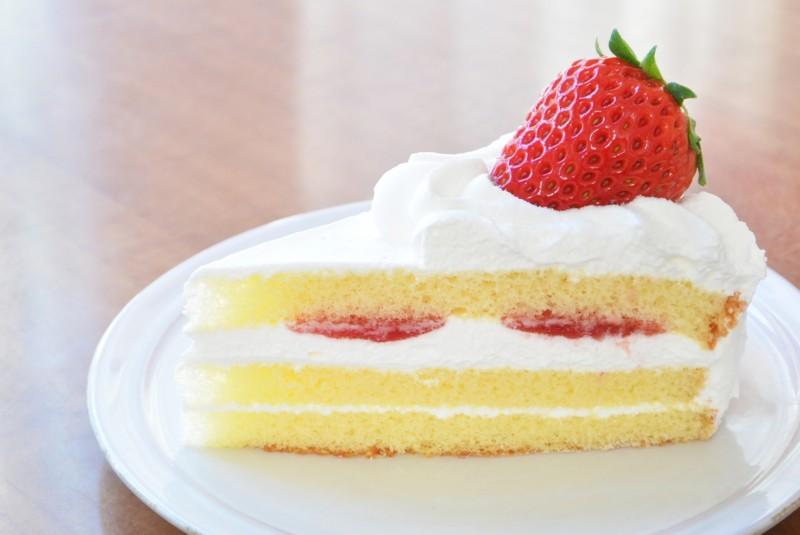 余ったケーキ