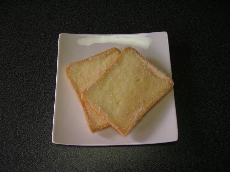 2枚の食パン