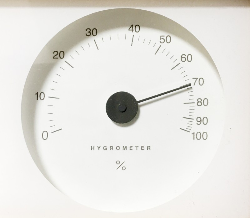 湿度65%以上