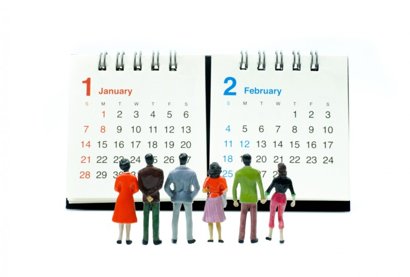 正月カレンダー