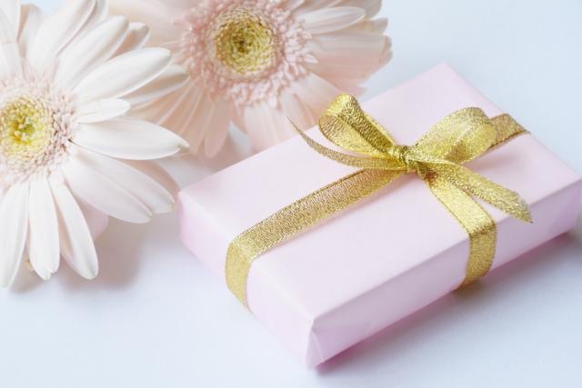 プレゼントとお花
