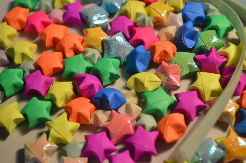星の折り紙