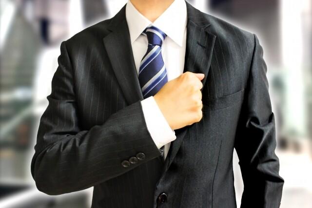 ビジネスマンの手