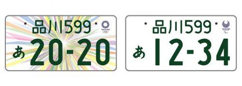 東京オリンピックナンバー