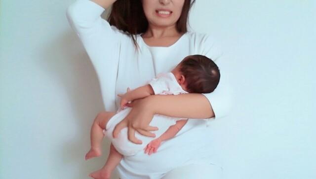 寝不足女性